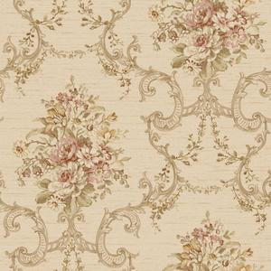 Floral & Ornamental Wallpaper NK2083