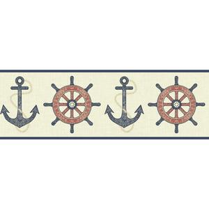 Nautical Spot Border NY4801B