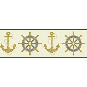 Nautical Spot Border NY4802B
