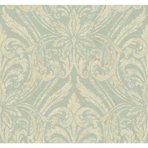 Glitter Damask Wallpaper JC5952