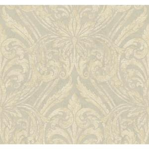 Glitter Damask Wallpaper JC5953