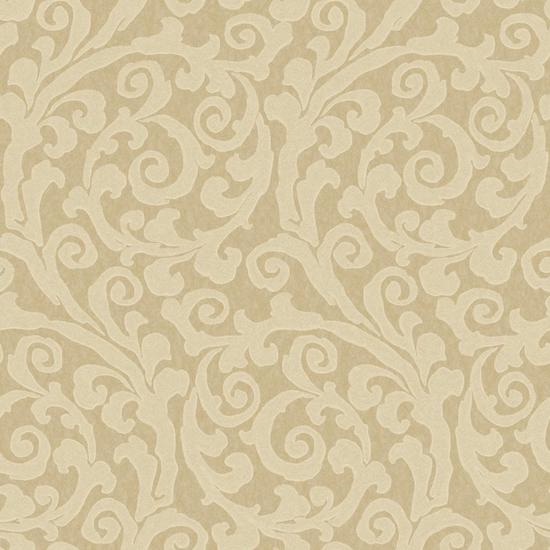 Raised Gt Scroll Wallpaper JC5972