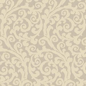 Raised Gt Scroll Wallpaper JC5974