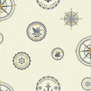 Nautical Spot Wallpaper NY4809