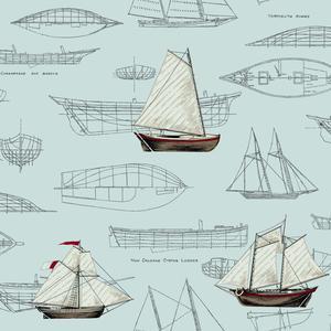 Pond Yachts Wallpaper NY4976