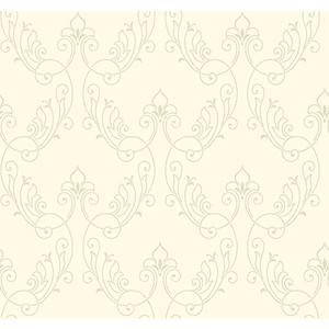 Stitched Ornamental Wallpaper BH8373
