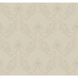 Stitched Ornamental Wallpaper BH8374
