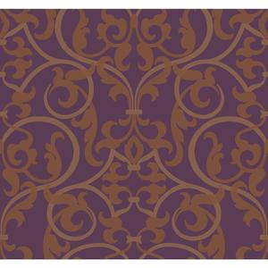 Royal Scroll Wallpaper BH8382