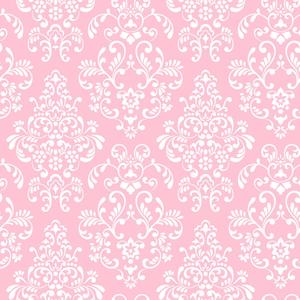 Delicate Document Damask Wallpaper KD1754