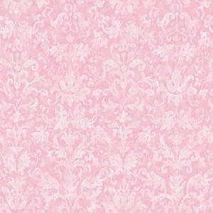 Distressed Damask Wallpaper YK0180