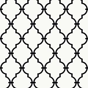 Graphic Trellis Wallpaper YS9100