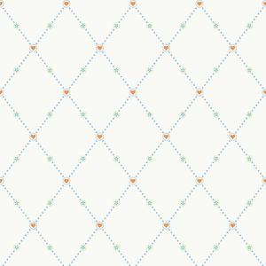 Hearts & Harlequins Wallpaper YS9152