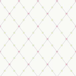 Hearts & Harlequins Wallpaper YS9154