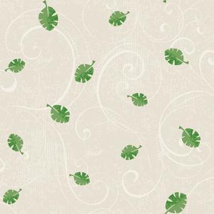 Leaf Scroll Wallpaper YS9183