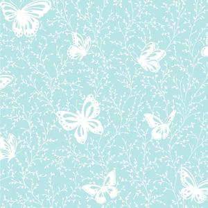 Butterfly Garden Wallpaper YS9215