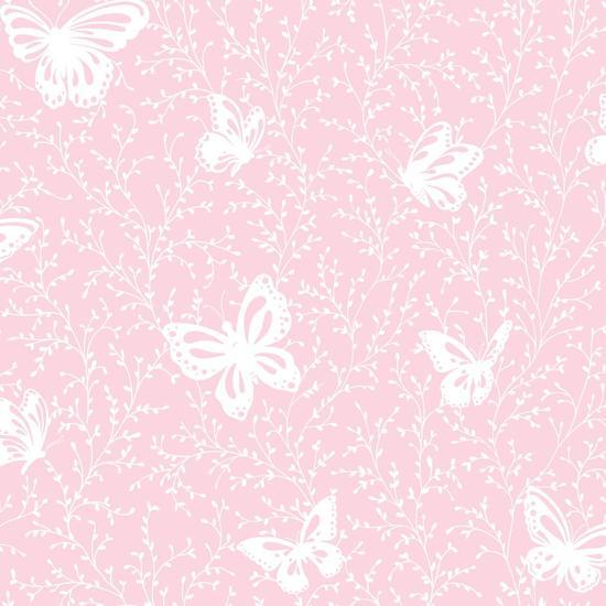 Butterfly Garden Wallpaper YS9217