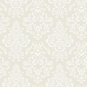 Delicate Document Damask Wallpaper YS9324