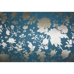 Scenic Garden Silhouette Wallpaper Y6130609