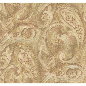 Raised Paisley Wallpaper GF0716