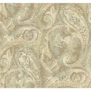 Raised Paisley Wallpaper GF0717