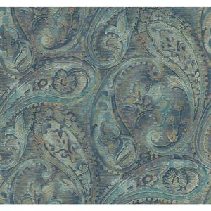 Raised Paisley Wallpaper GF0718