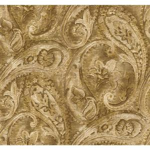 Raised Paisley Wallpaper GF0719