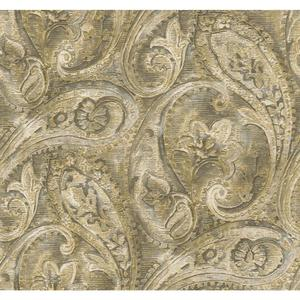 Raised Paisley Wallpaper GF0720