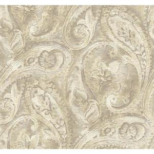 Raised Paisley Wallpaper GF0721