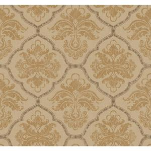 Framed Damask Wallpaper GF0724
