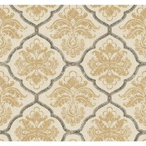 Framed Damask Wallpaper GF0727