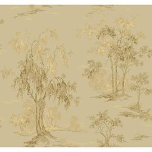 Metallic Scenic Wallpaper GF0764