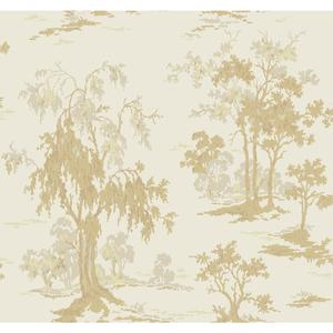 Metallic Scenic Wallpaper GF0765