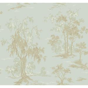 Metallic Scenic Wallpaper GF0766