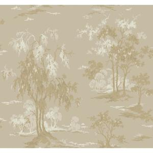 Metallic Scenic Wallpaper GF0767