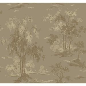 Metallic Scenic Wallpaper GF0768
