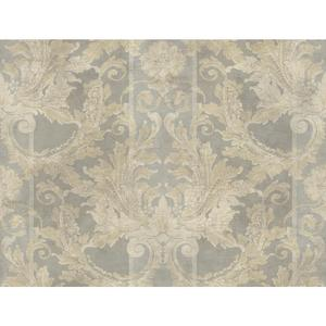 Aida Damask W/Stripe Wallpaper GF0790
