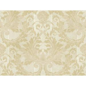 Aida Damask W/Stripe Wallpaper GF0791