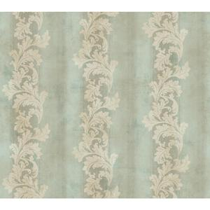 Acanthus Stripe Wallpaper GF0812