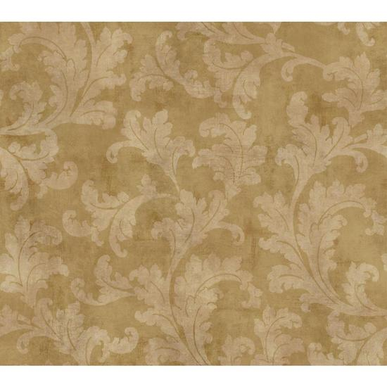 Rasied Leaf Velvet V Wallpaper GF0822