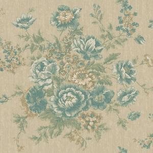 Rose Tapestry Wallpaper VR3400