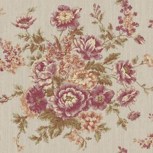 Rose Tapestry Wallpaper VR3401