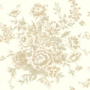 Rose Tapestry Wallpaper VR3403