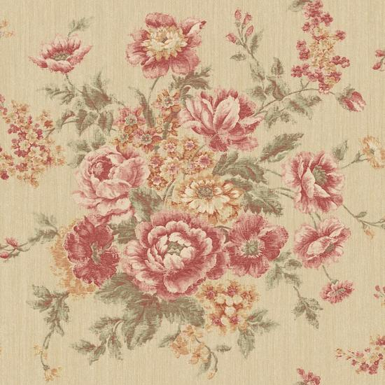 Rose Tapestry Wallpaper VR3404