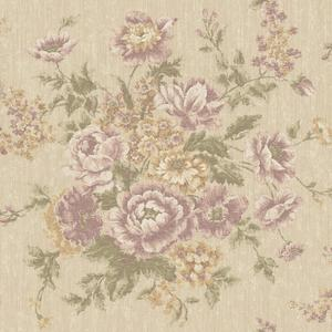 Rose Tapestry Wallpaper VR3405