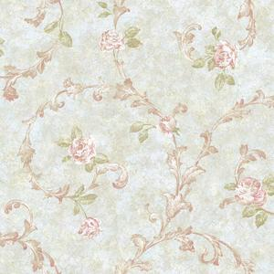 Rose Scroll Wallpaper VR3439