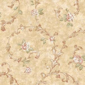 Rose Scroll Wallpaper VR3441