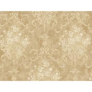 Floral Urn Wallpaper VR3469