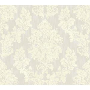 Regal Framed Damask Wallpaper VR3499
