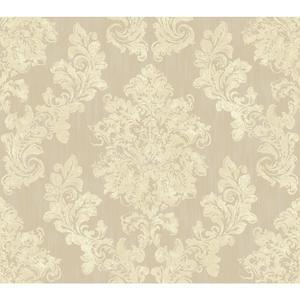 Regal Framed Damask Wallpaper VR3503