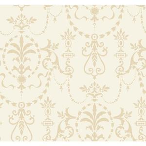 Glass Bead Ornamental Wallpaper FD8401